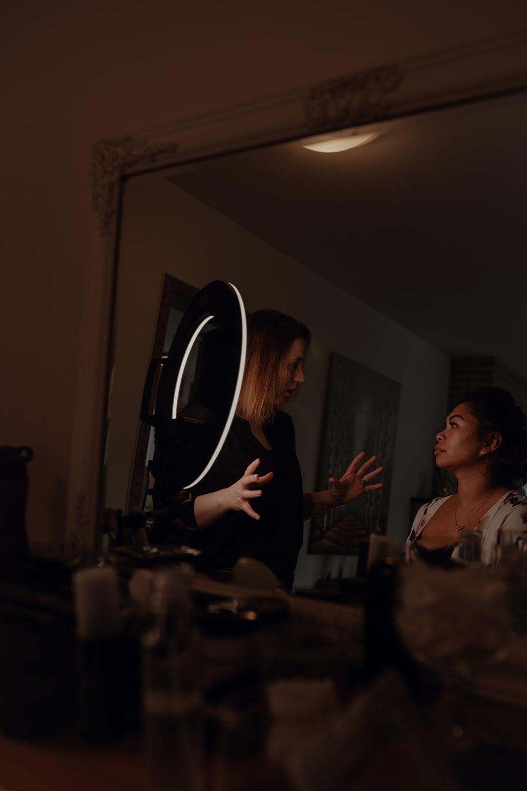wedding akureyri makeup artist